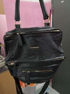 Givenchy Pandora sheepskin crumplestyle handbag
