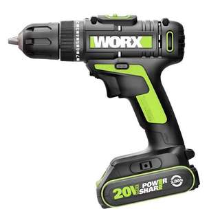 WORX Professional Variable Speed Compact 20 Volt Drill