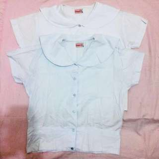 school uniform blouse(100 for 2)