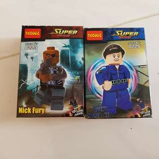 Agents of Shield Mini Figurines