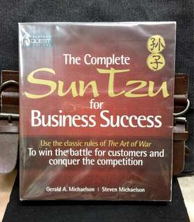 《New Book Condition + The Art Of War Strategies In Business》Gerald Michaelson & Steven Michaelson - THE COMPLETE SUN TZE FOR BUSINESS SUCCESS : Use the Classic Rules of the Art of War to Win the Battle for Customers and Conquer the Competition