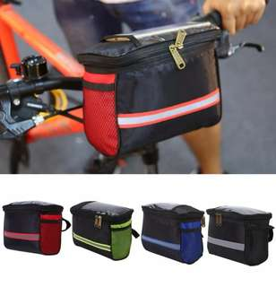 Waterproof Outdoor Cycling Bicycle Front Frame Phone Bag Bike Handlebar Case