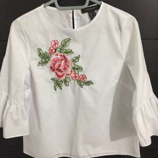 Primark Embroidered top