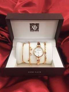 Anne Klein Watch and Bracelet