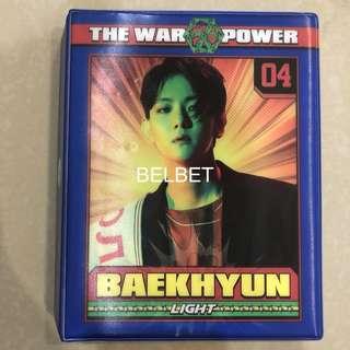 Baekhyun postcard collect book
