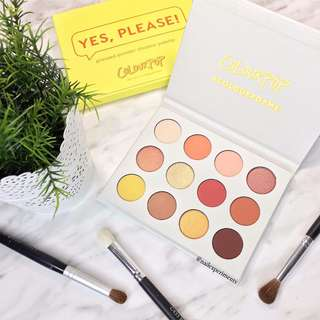 ✨ INSTOCK SALE: COLOURPOP YES PLEASE! Eyeshadow Palette