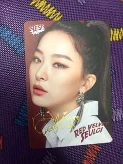 Seulgi~Red Velvet YES! Card