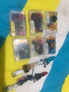 Snack world sgr卡牌和武器
