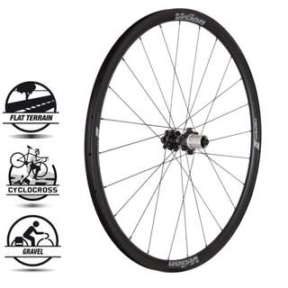[NEW] BNIB 2018 Vision Team 30mm profile, Aero Disc Road 6 Bolt Wheelset (700c tubeless ready)