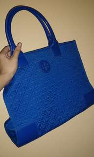 Tory burch blue tote bag | original