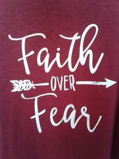 Faith Over Fear Dress