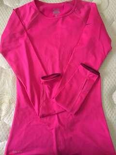 Nike Pink Long Sleeves