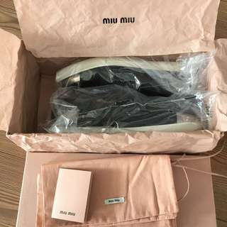 Authentic MIU MIU Slip On