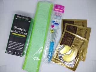 Paket Lengkap Black Mask Shills - Masker Komedo