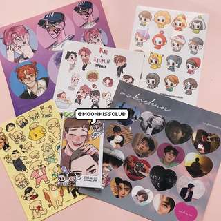 Exo Sticker Bundle