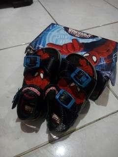 Spiderman sandals
