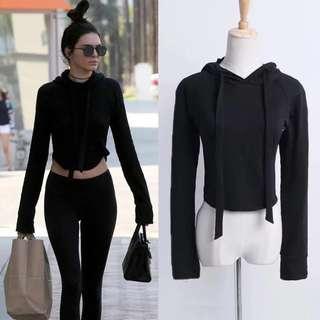 BN: Kendall Jenner Hoodie / Sweater Jacket / Women Sports