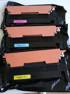 Used Empty Samsung Toner Cartridges x3pcs Xpress C460W