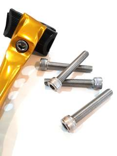 ***In-Stock = Cup Hexagon Socket Bolt M8 x 50mm 304 Stainless Steel For Seat Post Saddle Bracket
