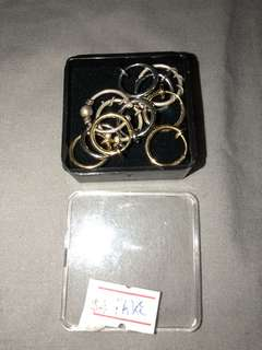 Fake septum rings $3 ea or $15 posted