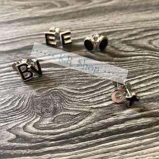100% New!!! Alphabet earrings