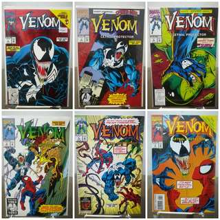 Venom Lethal Protector #1 to #6