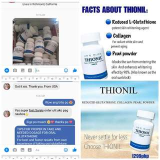PINAKAEFFECTIVE NA GLUTATHIONE WITH COLLAGEN AND PEARL POWDER