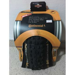 Continental Mountain King ll Tyre (29 x 2.4)