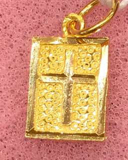 Gold 916 - Gold Cross Pendent ❤️