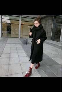 Black Spring/Autumn Light coat