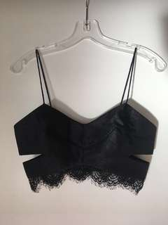 Cameo Lace Crop Top