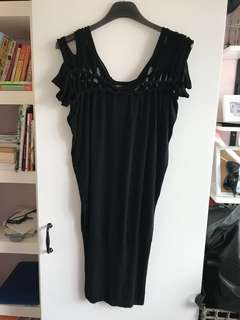 Jean Paul Gaultier black dress