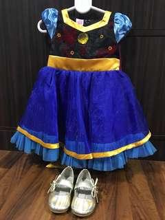 Frozen Anna Costume Set