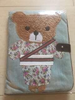 Teddy Thotz Teddy in Kimono Jean A5 Organiser