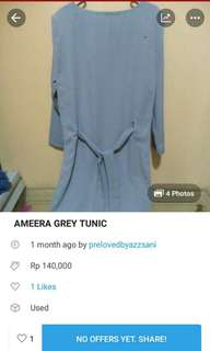 FLASH SALE TUNIC AMEERA ONLY 70RB!!! ALL SIZE FIT TO L