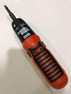 Black & Decker mechanical screwdriver