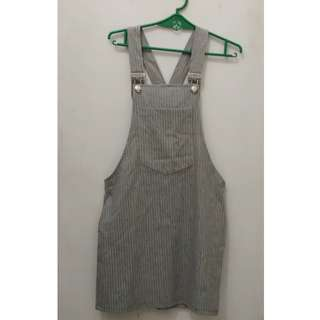RUSH!!! Gray Jumper Dress