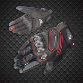 INSTOCK Motorbike - Carbon Protect Riding Gloves