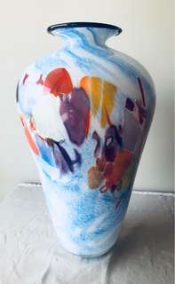 One Of A Kind Handmade Glass Vase
