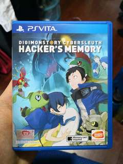 Digimonstory Cybersleuth Hacker's Memory PSVITA