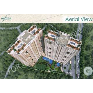 1 bedroom for sale in Infina Towers in Aurora Cubao, QC near LRT Station 2