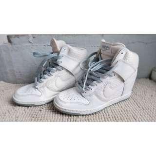 Nike White Wedges Sneakers