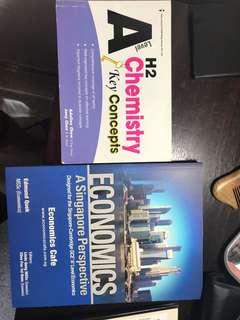 H2 Economics and H2 Chemistry key concept booklet