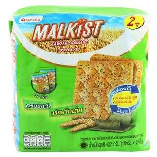 🇹🇭泰國直送零食系列😝紫菜餅乾(內有24小包)