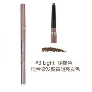 Solone 24 Hours Long Lasting Eyebrow Pencil Light Brown