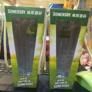 Somersby 蘋果酒杯 2隻