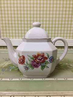 Teapot Japanese Roses