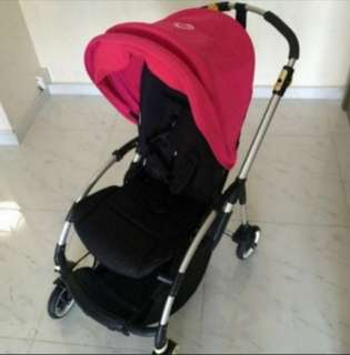 Bugaboo Bee Plus Stroller Pink/Royal Blue