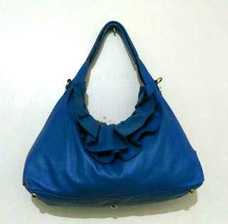Authentic Valentino Garavani Ruffled Tote Bag