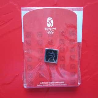 2008 北京奧運紀念品 棒球紀念襟章